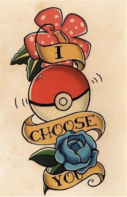 Tattoo Pokemon Pokeball Pikachu Flash Clipart Tattoos
