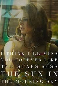 Summertime Sadness - Lana Del Rey | Music | Pinterest