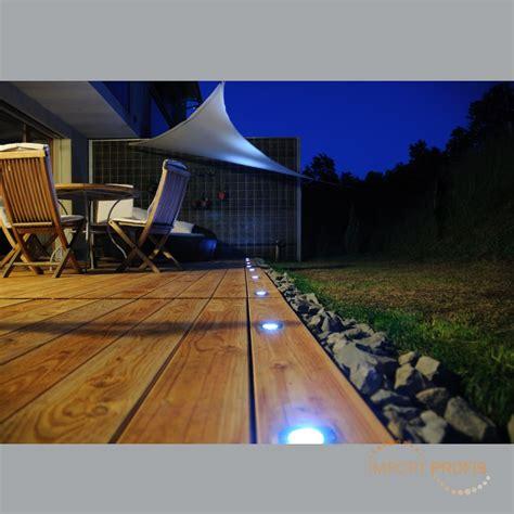 5x Solar Led Bodeneinbaustrahler Garten Einbaustrahler