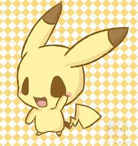 Chibi Pikachu by poke-helioptile294 on DeviantArt