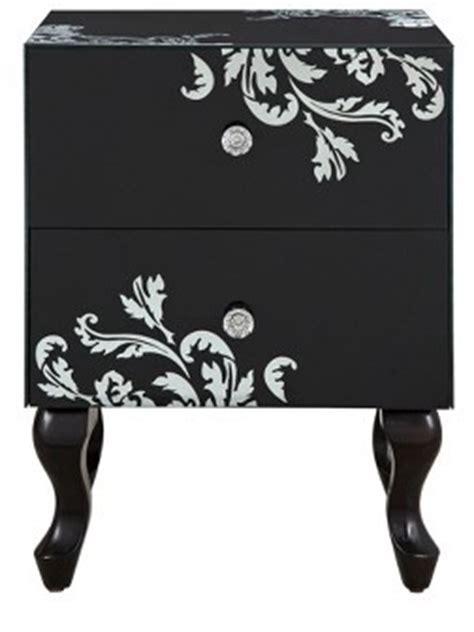 laurence llewelyn bowen scaramouche 2 drawer bedside table