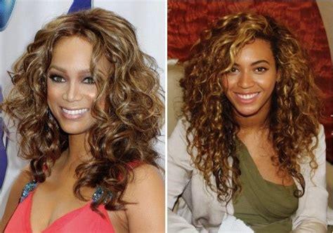 Easy Curly Hairstyle For Medium Length Hair