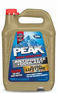 Wholesale Peak Global Lifetime 50 50 Antifreeze Coolant