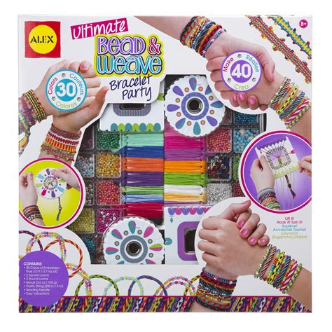 ALEX Toys Ultimate Bead & Weave Bracelet Party