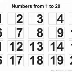 Free Download Printable Page With Numbers 120  Free Printables