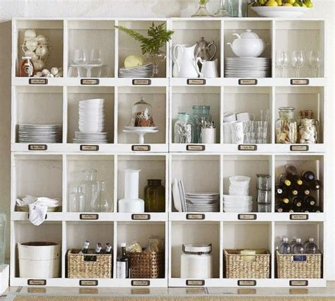 Pottery Barn Glass Bathroom Accessories by 56 Useful Kitchen Storage Ideas Digsdigs