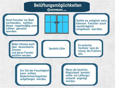 Bad Ohne Fenster Richtig Lüften by Richtiges L 252 Ften Im Bad Wohnung Ratgeber