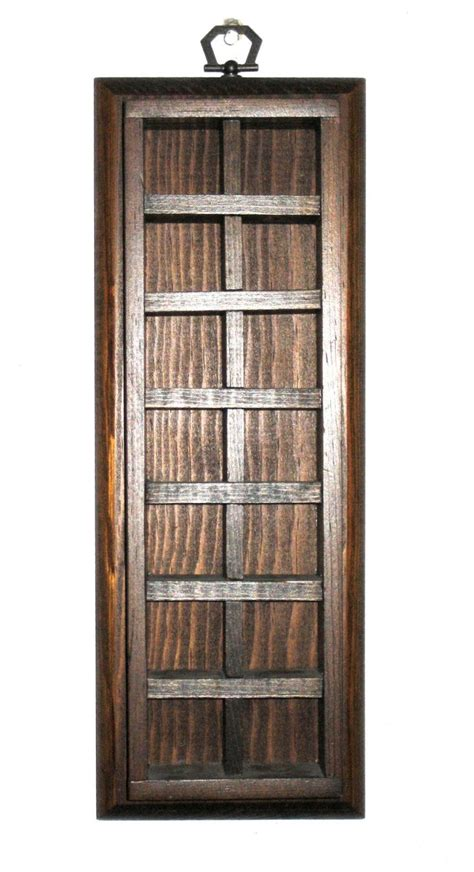 small wall curio cabinet vintage wood curio cabinet wall hanging small shelf
