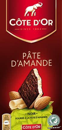cote d or pate d amande chocolat noir 224 la p 226 te d amande c 244 te d or 150 g la vie grande 233 picerie et fraiche