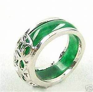 Jade gold wedding rings miracle wedding rings for Jade wedding rings
