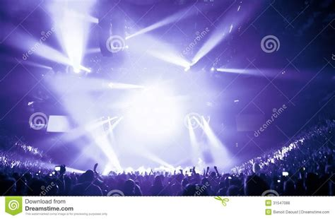 I Bid Live Big Live Concert Royalty Free Stock Photos Image