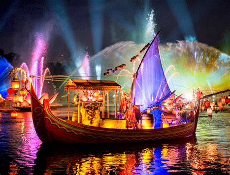Disney Light Show by Disney Will Debut New Rivers Of Light Show Next Week Blogs