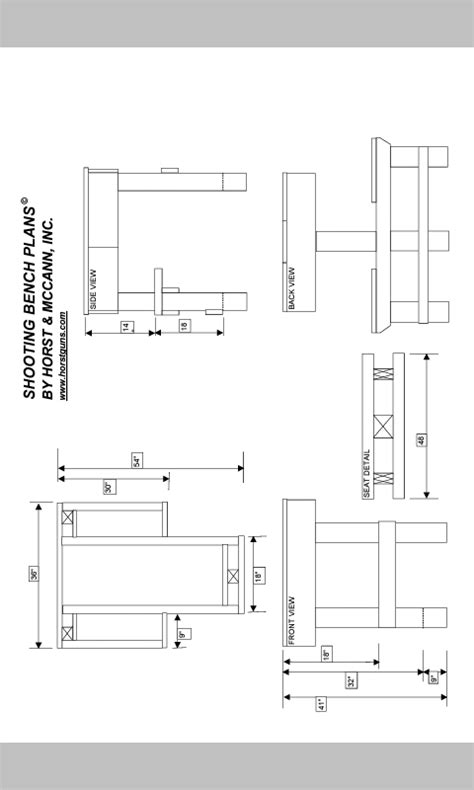 shooting bench plans mississippi gun owners community