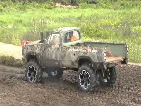 dodge mud truck dodge mud truck fails mud pit run bad youtube