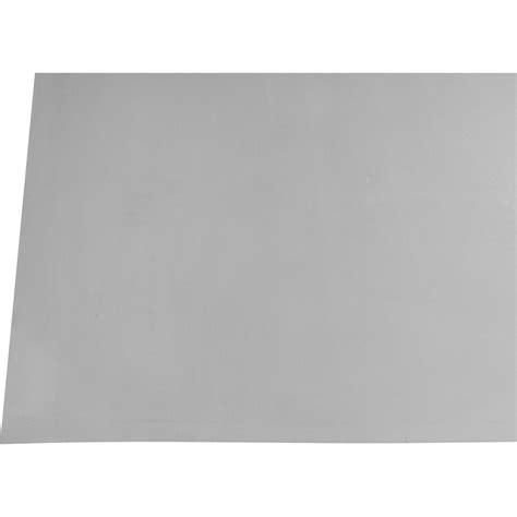 feuille de zinc scover plus gris 2x1m leroy merlin