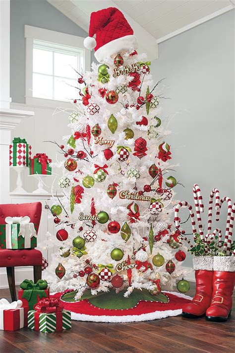 christmas tree decorations ideas  pinterest