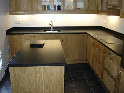 plan de cuisine granit granits déco plan de travail en granit noir