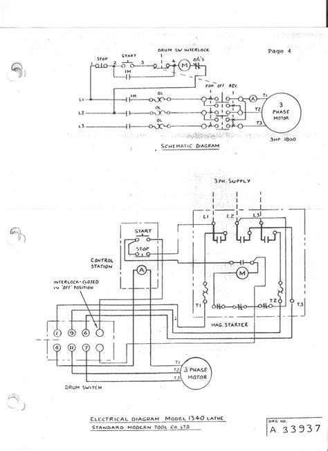 Wiring Drum Switch Reverse Single Phase Motor