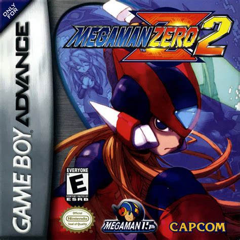 Game Mega Man Zero 2 Game Boy Advance 2003 Capcom