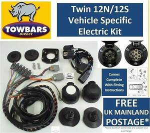 Twin 7 Pin Towbar Wiring Kit For Land Rover Discovery 3