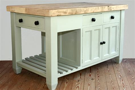 standalone kitchen island handmade solid wood island units freestanding kitchen units willies country kitchens