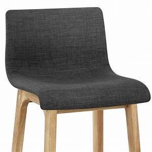 Tabouret De Bar Tissu : chaise de bar tissu bois drift monde du tabouret ~ Teatrodelosmanantiales.com Idées de Décoration