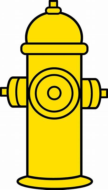 Hydrant Fire Yellow Clip Clipart Transparent Truck