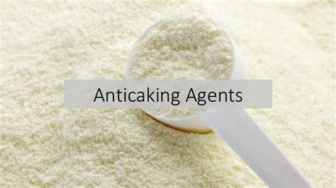 anti caking agents market size