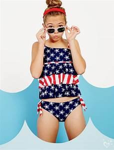 Starts & Stripes Tankini Swimsuit | Justice | Just Beachy ...