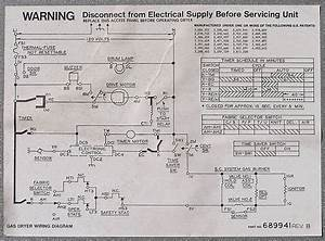 Kenmore Gas Dryer Model 110 Wiring Diagram