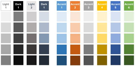 Powerpoint Template Color Scheme by Powerpoint Template Color Theme Gallery Powerpoint