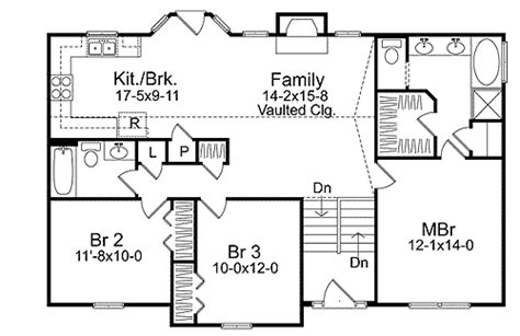 cozy split level house plan sl narrow lot st