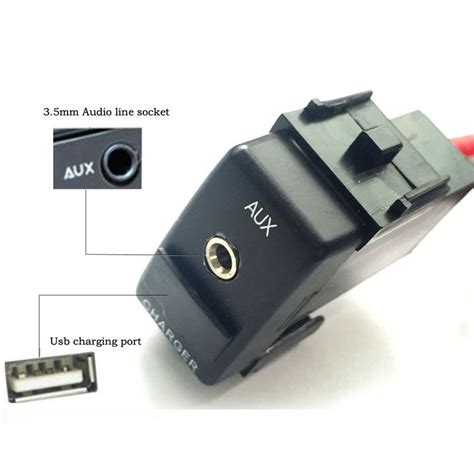 Can I Add A Usb To My Car Stereo by Car Aux Switch Charge Usb Switch For Nissan Qashqai