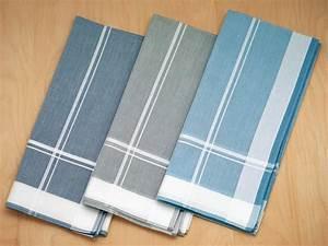 Set of 3 Blue/Grey Patterned Woven Striped Mens Handkerchiefs