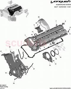 Aston Martin Vanquish  2012   Engine Sealing Parts