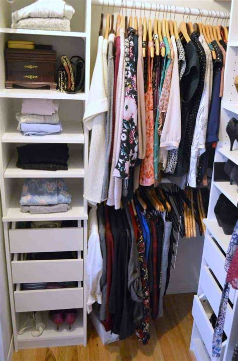 The Closet by Decluttering The Closet Using The Konmari Method