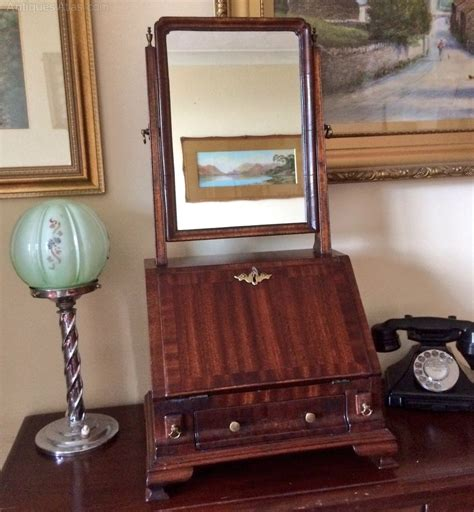 bureau dressing antiques atlas regency mahogany veneered bureau dressing