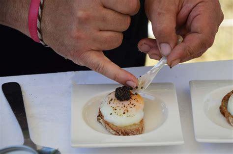 canape oeuf a la découverte du caviar de neuvic