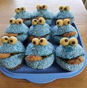 Cookie Monster Muffins Muffins Macarons Co Pinterest