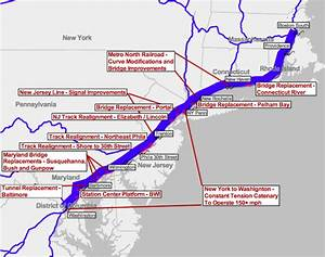 Amtrak Contemplates A Renewed Northeast Corridor And Lays