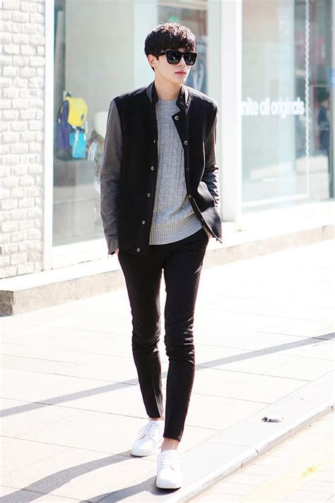 Great look - Korean menu0026#39;s street style. -Lily | Raddest Looks On The Internet http//www ...