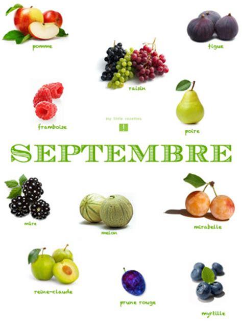 cuisine de saison septembre septembre produits frais et de saison my recettes