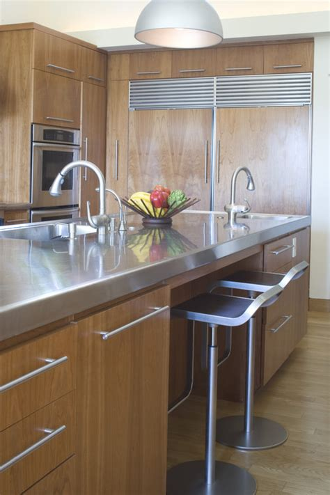 kitchens  prove stainless steel