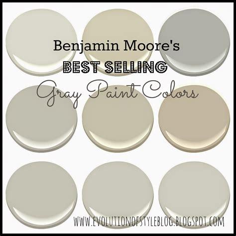 Benjamin Moore's Best Selling Grays  Evolution of Style