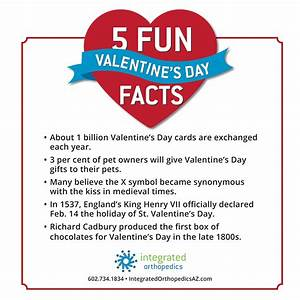 Happy Valentine's Day – 5 Fun Facts | Integrated Orthopedics