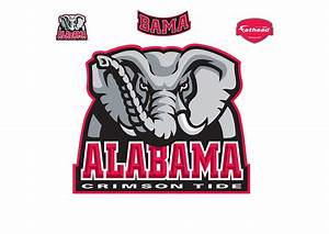 Alabama Crimson Tide Logo Wall Decal | Shop Fathead® for Alabama Crimson Tide Decor