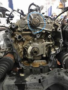 2010 Ford Taurus  Water Pump Failed  Likely Overheat  Resulting In Water Pump Seals Failing