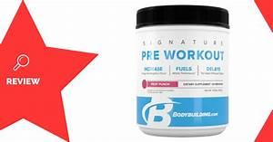 Bodybuilding Com Signature Pre-workout Review