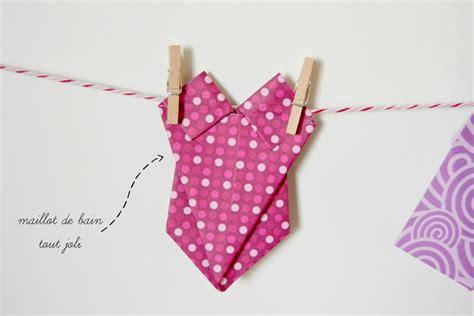 comment faire une robe de chambre la chambre des filles vêtements en origami maman à