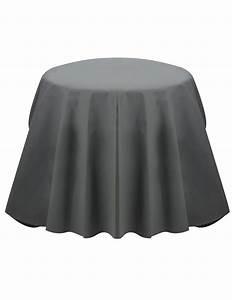 Nappe Ronde Grise : nappe ronde grise opaque d coration anniversaire et f tes th me sur vegaoo party ~ Teatrodelosmanantiales.com Idées de Décoration